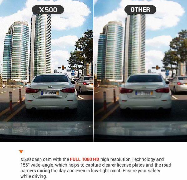 FineVu X500 Dash Cam